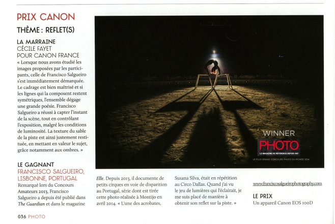 Winner - French Photo Magazine